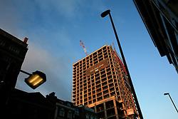 UK ENGLAND LONDON 5DEC12 - New multi-storey construction project near Brick Lane and Shoreditch in London's trendy east end.......jre/Photo by Jiri Rezac......© Jiri Rezac 2012