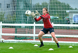Sophie Baggaley of Bristol City during warm-up - Mandatory by-line: Paul Knight/JMP - 26/08/2018 - FOOTBALL - Stoke Gifford Stadium - Bristol, England - Bristol City Women v Sheffield United Women - FA WSL Continental Tyres Cup