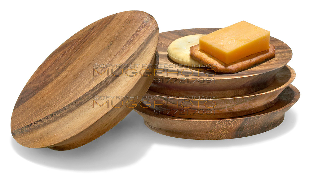 tapas plates stack with cheese and crackers