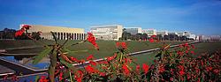 Brasilia, Distrito Federal, Brasil. Agosto/2004.Vista panoramica da Esplanada dos Ministerios. / Panoramic view of the Ministry Buildings..Foto © Marcos Issa/Argosfoto.