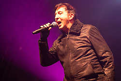 Edinburgh, Scotland, UK. 31st Dec 2019. Edinburgh's famous Hogmanay party. Pictured Marc Almond at Waverley Stage. Iain Masterton/Alamy Live News