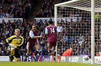 Manchester City v West Ham United, FA Barclaycard Premiership, Maine Road, Manchester. 27/04/2003.<br />
