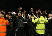 Photo: Rich Eaton.<br /> <br /> Shrewsbury Town v Milton Keynes Dons. Coca Cola League 2. Play off Semi Final, 1st Leg. 14/05/2007. Shrewsbury fans taunt the away fans at the end of the game as they invade the pitch
