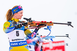 March 10, 2019 - –Stersund, Sweden - 190310 Mona Brorsson of Sweden looks dejected during the Women's 10 km Pursuit during the IBU World Championships Biathlon on March 10, 2019 in Östersund..Photo: Petter Arvidson / BILDBYRÃ…N / kod PA / 92254 (Credit Image: © Petter Arvidson/Bildbyran via ZUMA Press)