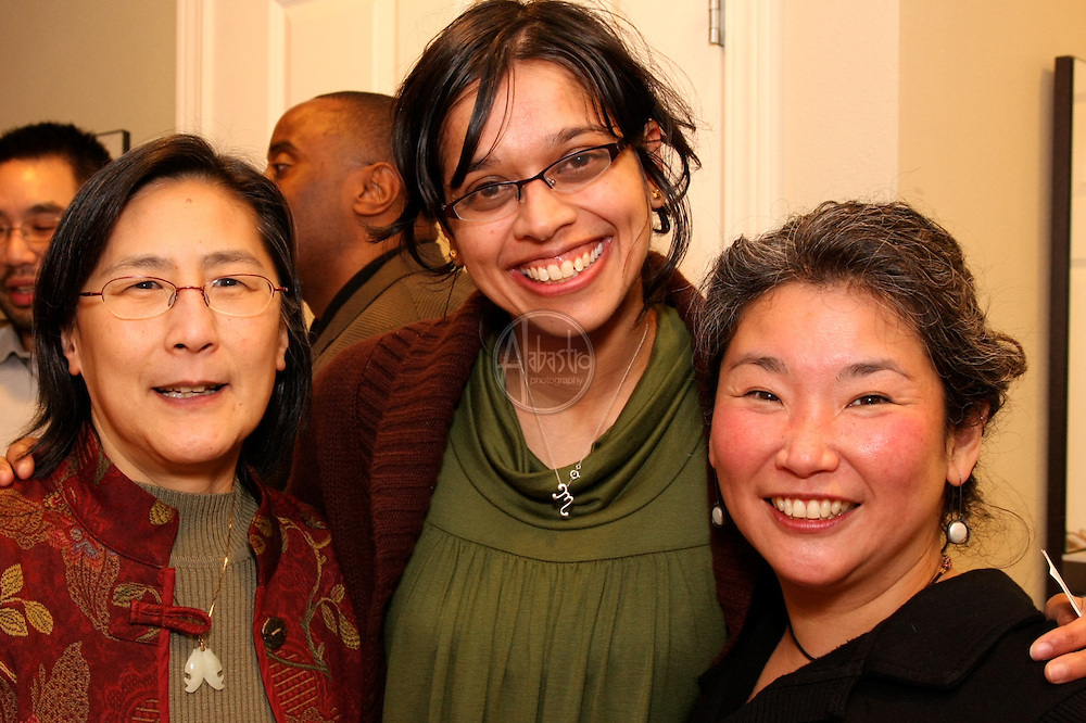 API Senior Staff reception Feb. 2010 at the home of Albert Shen.