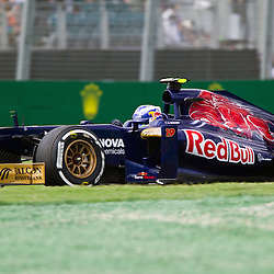 F1 Australian Grand Prix 15 March 2013.F1 Practice Session 1 Daniel Ricciardo Turn 4.(c) MILOS LEKOVIC | StockPix.eu