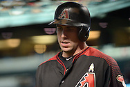 PHOENIX, AZ - SEPTEMBER 17:  Paul Goldschmidt #44 of the Arizona Diamondbacks reacts after striking out in the first inning against the Los Angeles Dodgers at Chase Field on September 17, 2016 in Phoenix, Arizona. The Dodgers won 6 - 2.  (Photo by Jennifer Stewart/Getty Images)