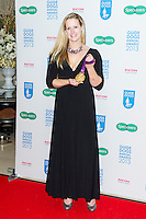 Naomi Riches,Guide Dog of the Year Awards and Charity Ball, London Hilton, Park Lane, London UK, 11 December 2013, Photo by Raimondas Kazenas