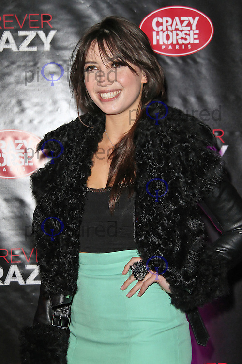 LONDON - SEPTEMBER 19: Daisy Lowe attended the premiere of 'Crazy Horse Presents Forever Crazy' at The Crazy Horse, London, UK. September 19, 2012. (Photo by Richard Goldschmidt)