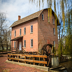 Photo of Grist Mill in Deep River County Park in Hobart Indiana. John Wood built the grist mill in the early 1800's.