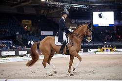 BACHMANN ANDERSEN Daniel (DEN), Blue Hors Zepter<br /> Stuttgart - German Masters 2018<br /> Grand Prix de Dressage<br /> FEI Dressage World Cup CDI-W<br /> 16. November 2018<br /> © www.sportfotos-lafrentz.de/Stefan Lafrentz