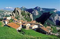 France - Provence - Alpes de Haute Provence - Gorges du Verdon - Rougon