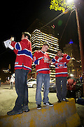 Montreal's Canadien hockey club fans.during 2010 playoffs