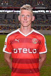 02.07.2015, Esprit Arena, Duesseldorf, GER, 2. FBL, Fortuna Duesseldorf, Fototermin, im Bild Axel Bellinghausen ( Fortuna Duesseldorf / Portrait ) // during the official Team and Portrait Photoshoot of German 2nd Bundesliga Club Fortuna Duesseldorf at the Esprit Arena in Duesseldorf, Germany on 2015/07/02. EXPA Pictures &copy; 2015, PhotoCredit: EXPA/ Eibner-Pressefoto/ Thienel<br /> <br /> *****ATTENTION - OUT of GER*****