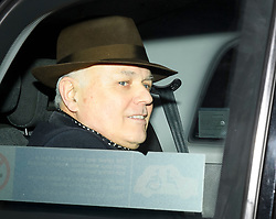 © Licensed to London News Pictures. 06/02/2019. London, UK. IAIN DUNCAN SMITH MP arrives at Battersea Park in London for the annual Black and White Ball, a fundraiser held by the Conservative Party. Photo credit: Ben Cawthra/LNP