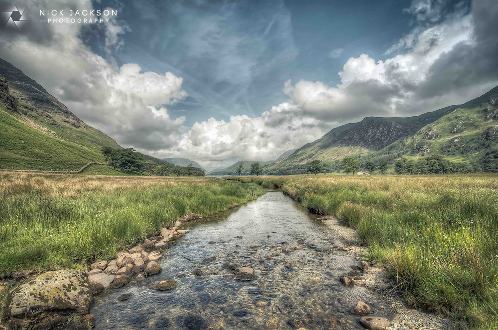 Buttermere is a lake in the English Lake District in North West England. In my mind it's one of the most spectacular places on the planet.