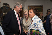 JONATHAN AITKEN; PRINCESS ALEXANDRA; LADY ANNABEL LINDSAY,, Robin Birley and Lady Annabel Goldsmith Summer Party. Hertford St. London. 5 July 2017