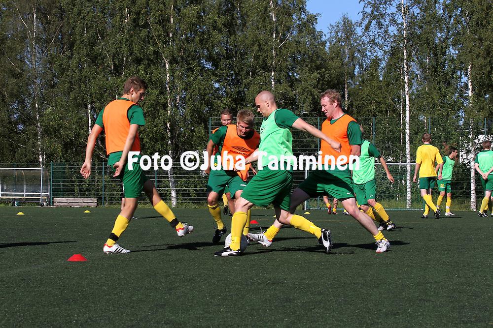 3.7.2012, Matinkyl?, Espoo..EsPan harjoitukset.