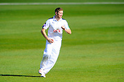 Hampshire's Liam Dawson during the Specsavers County Champ Div 1 match between Hampshire County Cricket Club and Warwickshire County Cricket Club at the Ageas Bowl, Southampton, United Kingdom on 12 April 2016. Photo by Graham Hunt.