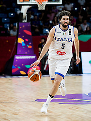 Ariel Filloy of Italy during basketball match between National Teams of Italy and Serbia at Day 14 in Round of 16 of the FIBA EuroBasket 2017 at Sinan Erdem Dome in Istanbul, Turkey on September 13, 2017. Photo by Vid Ponikvar / Sportida