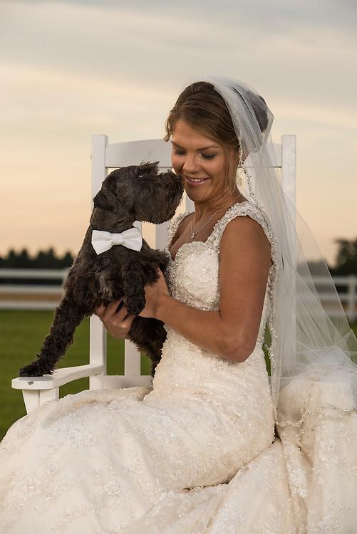 Kerri Bridal Portrait | Greenville NC Photographers