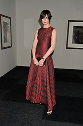ERIN O'CONNOR at the IWC Schaffhausen Gala Dinner in honour of the British Film Institute held at the Battersea Evolution, Battersea Park, London on 7th October 2014.