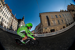 Roberto De Patre (ITA) of Fantini Vini By Farnese competes during Stage 1of  cycling race 20th Tour de Slovenie 2013 - Time Trial 8,8 km in Ljubljana,  on June 12, 2013 in Slovenia. (Photo By Vid Ponikvar / Sportida)