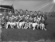 18/03/1956<br /> 03/18/1956<br /> 18 March 1956<br /> Ireland v Combined Universities at Croke Park, Dublin. Ireland Team.