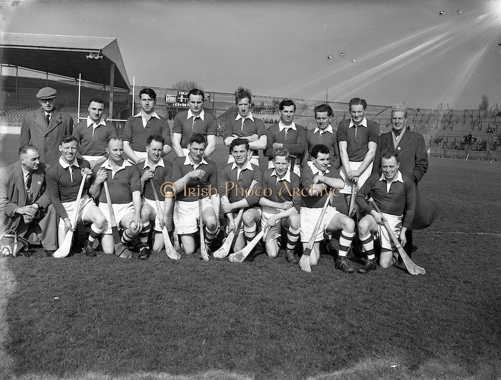 18/03/1956<br /> 03/18/1956<br /> 18 March 1956<br /> Ireland v Combined Universities at Croke Park, Dublin. Ireland Team.