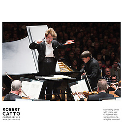 Pietari Inkinen conducts the New Zealand Symphony Orchestra in a programme of Beethoven at Auckland Town Hall, Auckland, New Zealand.