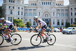 Ellen van Dijk (NED) rides during Stage 2 of the Madrid Challenge - a 100.3 km road race, starting and finishing in Madrid on September 16, 2018, in Spain. (Photo by Balint Hamvas/Velofocus.com)