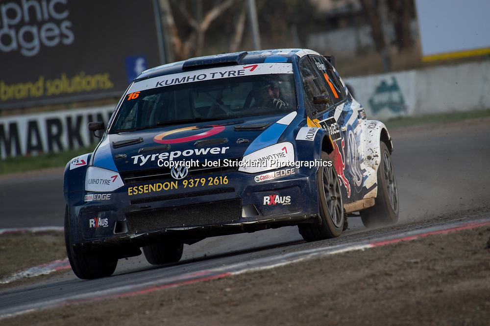 Russ Pilven - Volkswagen Polo - Rallycross Australia - Winton Raceway - 16th July 2017