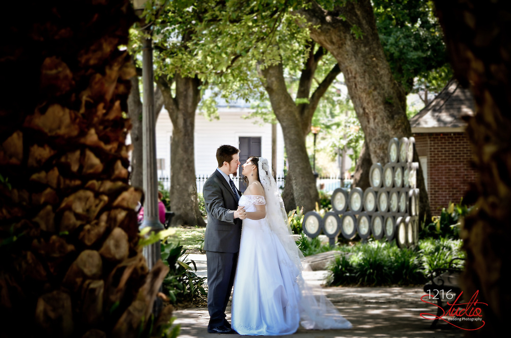 Marco & Reese |  Venusian Gardens Wedding - New Orleans 2013 | 1216 Studio Photography