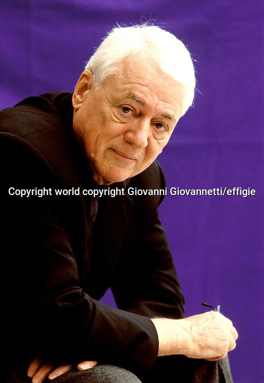 Alexander Kluge<br />world copyright Giovanni Giovannetti/effigie