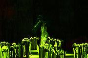 Belo Horizonte_MG, 10 de Maio de 2011..MINAS TREND PREVIEW - DESFILE DE ABERTURA..Desfile de abertura que reune roupas e pecas de varias marcas.O desfile em conjunto tem direcao do estilista Ronaldo Fraga e stylist de Daniel Ueda.O evento acontece no pavilhao do Expominas...FOTO: MARCUS DESIMONI / NITRO......
