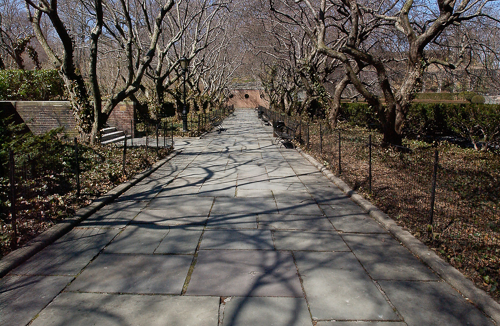 Central Park Walkway