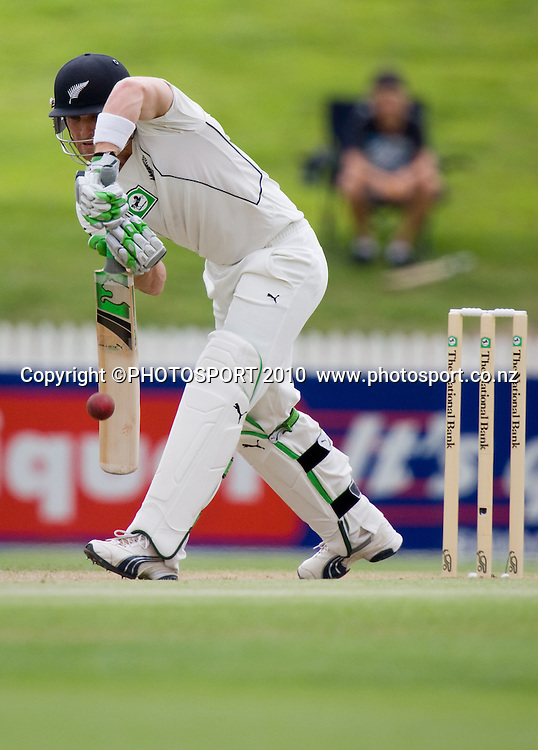 during day 2 of the one off test cricket match between New Zealand Black Caps and Bangladesh at Seddon Park, Hamilton, New Zealand, Tuesday 16 February 2010. Photo: Stephen Barker/PHOTOSPORT