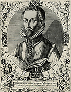 Orlando Lassus (Orlando di Lasso - c1532-1594) Composer and musician from the Netherlands. Active in Italy, England and France, He composed both sacred and secular works. Ennobled by Maximilian II in 1570. From a copperplate engraving.