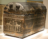Egypt, 25th Dynasty, Sarcophagus of Anch-Hor, c. 746-332 BC