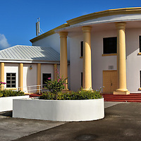 Parliament Building and Government Complex in St. John&rsquo;s, Antigua <br />