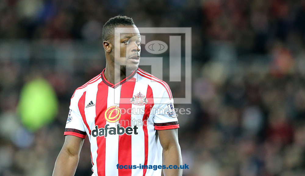 Lamine Kone of Sunderland during the Barclays Premier League match at the Stadium Of Light, Sunderland<br /> Picture by Simon Moore/Focus Images Ltd 07807 671782<br /> 02/02/2016