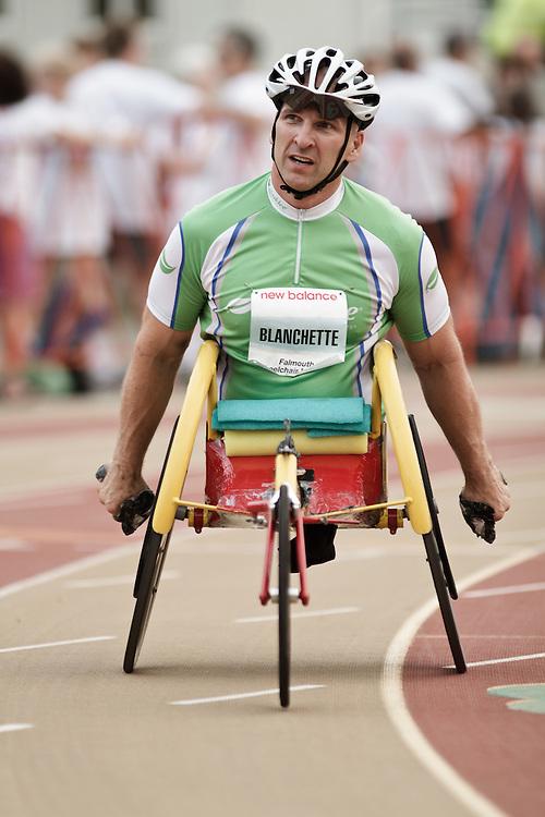 Falmouth Road Race: Falmouth Wheelchair Mile, Craig Blanchette