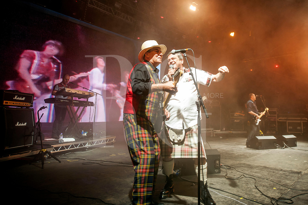 Bay City Rollers performs on Day 2 of the T in the Park festival at Strathallan Castle on July 09, 2016 in Perth, Scotland. (Photo by Ross gilmore)