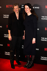February 19, 2019 - London, United Kingdom of Great Britain and Northern Ireland - Gail Egan and Andrea Calderwood arriving at the UK premiere of 'The Boy Who Harnessed The Wind' at Ham Yard Hotel on February 19, 2019 in London, England  (Credit Image: © Famous/Ace Pictures via ZUMA Press)