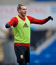 CARDIFF, WALES - Thursday, November 15, 2018: Wales' Gareth Bale during a training session at the Cardiff City Stadium ahead of the UEFA Nations League Group Stage League B Group 4 match between Wales and Denmark. (Pic by David Rawcliffe/Propaganda)