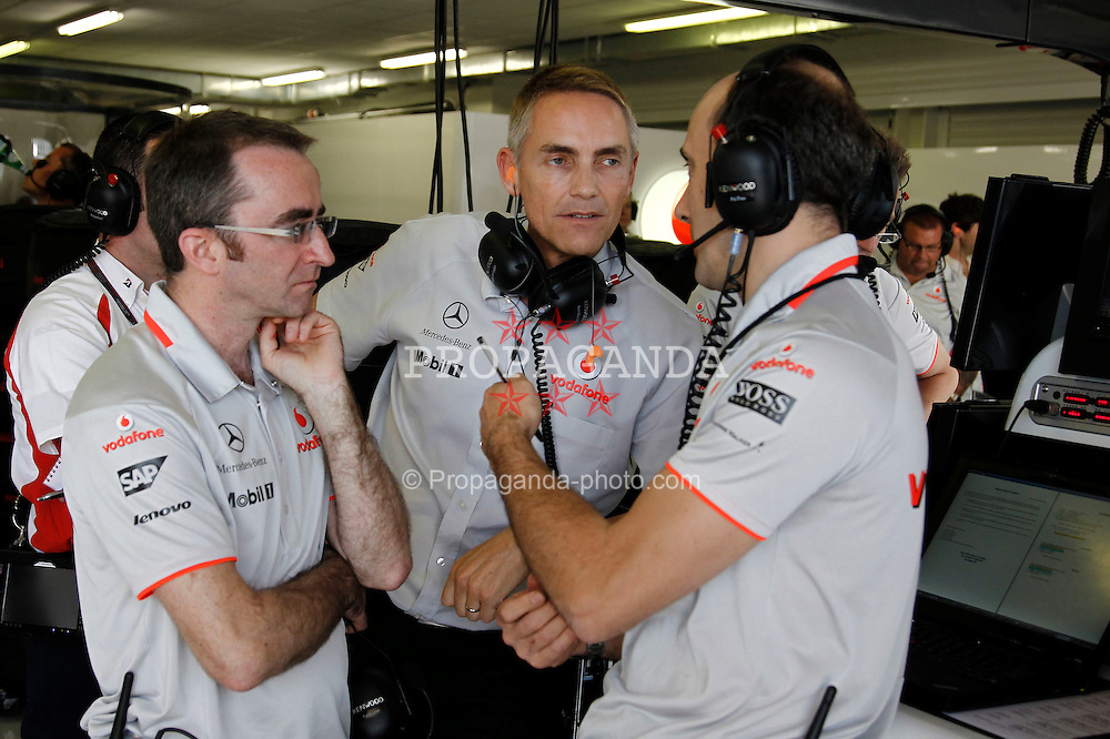 Motorsports / Formula 1: World Championship 2010, GP of Europe, Martin Whitmarsh (ENG, Teamchef Vodafone McLaren Mercedes)