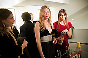JENNY BENEDICTE WILHELMSEN; ANOUSKHA BECKWITH; LULU BARSOTTI,  Anthony Souza: photographs from W.E. (directed by Madonna) and personal works from India. Little Black Gallery. Kensington. London. 13 December 2011.