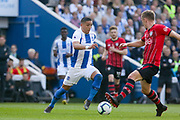 Brighton and Hove Albion midfielder Anthony Knockaert (11) during the Premier League match between Brighton and Hove Albion and Southampton at the American Express Community Stadium, Brighton and Hove, England on 30 March 2019.
