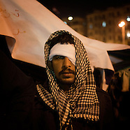 2012 - Egypt: anniversary of Revolution. Portraits.