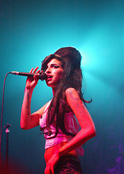 Amy Winehouse at the Carling Academy.<br /> Pic &copy; Michael Schofield.